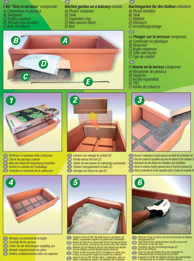 Fare l\'orto in terrazzo o sul balcone: poche semplice operazioni ...